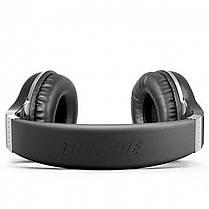 ✖Стерео bluetooth гарнитура Bluedio H+ Black наушники с микрофоном беспроводная USB microSD FM-радио, фото 3