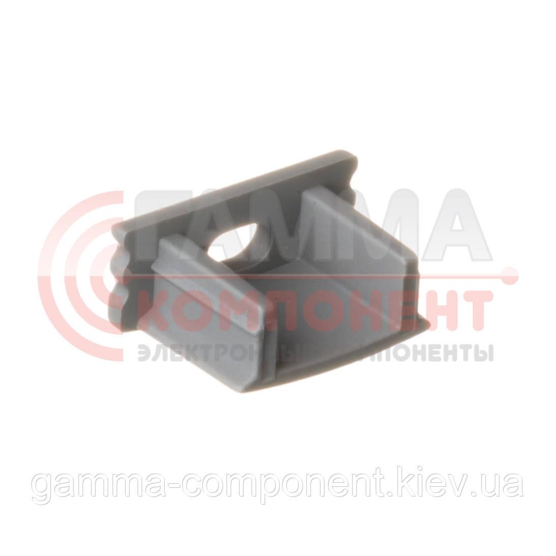 Заглушка для алюминиевого профиля ПФ-1 с отверстием