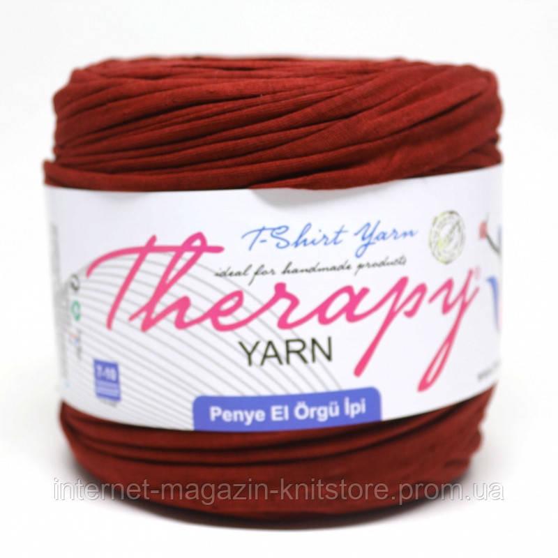 Пряжа трикотажна Therapy T-shirt Yarn L-Size Теракотовий