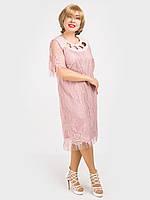 Женское вечернее платье большого размера. Размер 54, 56, 58