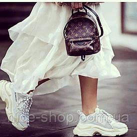 Рюкзак Louis Vuitton  мини, кожаный