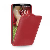 Кожаный чехол (флип) TETDED для LG G2 mini D618 красный