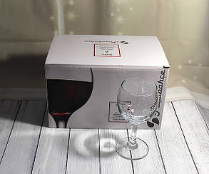 Набор бокалов для вина Pasabahce «Бистро» 220 мл 6 шт (44412), фото 2