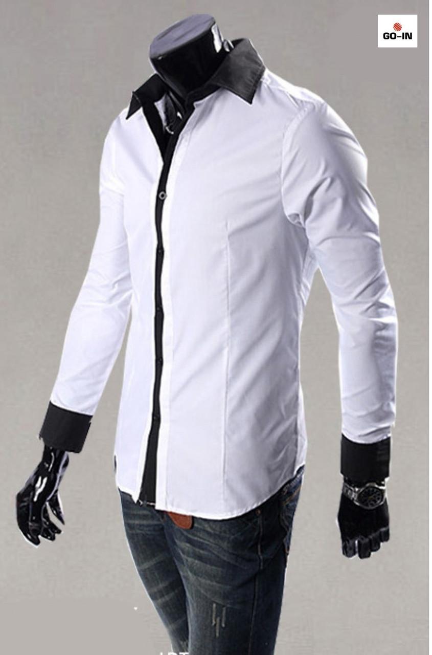 Стильная рубашка мужская стильная