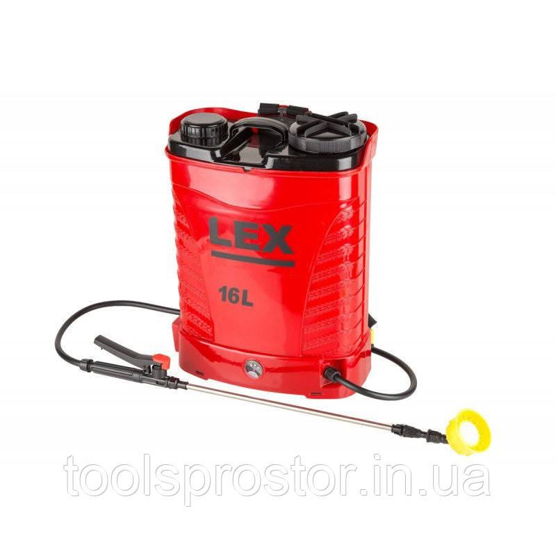 Аккумуляторный Опрыскиватель LEX AES-16 PROFi : 16 л. | 15 Ач - Tools Prostor в Львове