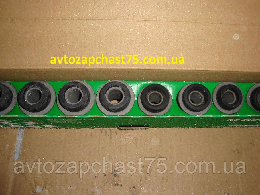 Сайлентблок подвески ВАЗ 2101, 2102, 2103, 2104, 2105, 2106, 2107 (комплект 8 шт.) производство КЕДР, Россия