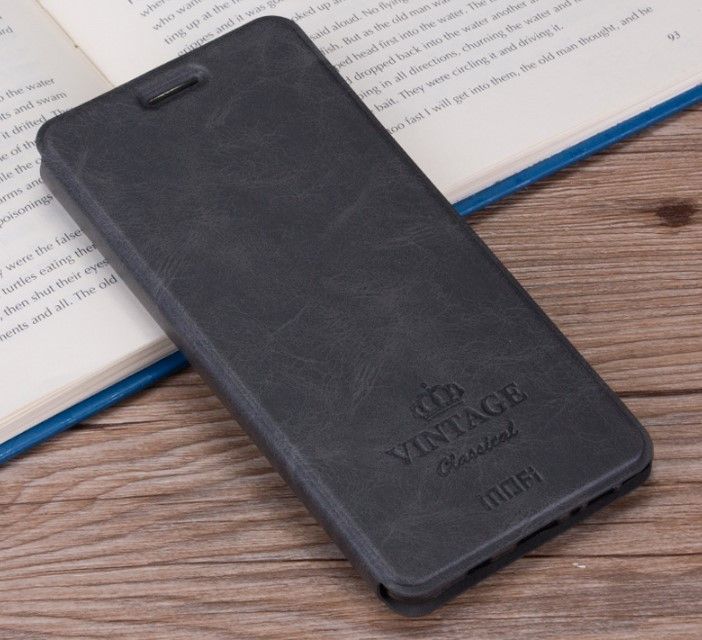 Чехол-книжка MOFI Vintage Series для Samsung Galaxy S8 Plus (G955) gray