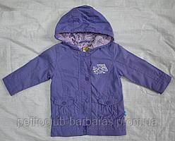 Ветровка хлопковая для девочки фиолетовая (QuadriFoglio, Польша)