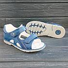 Ортопедические сандалии от Том. М мальчикам, р. 35 (22,2 см), фото 2