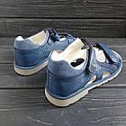 Ортопедические сандалии от Том. М мальчикам, р. 35 (22,2 см), фото 4