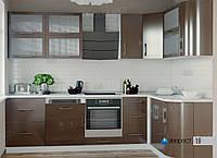 "Кухня модульная ""Модерн"", мдф глянец (Эверест), фото 1"