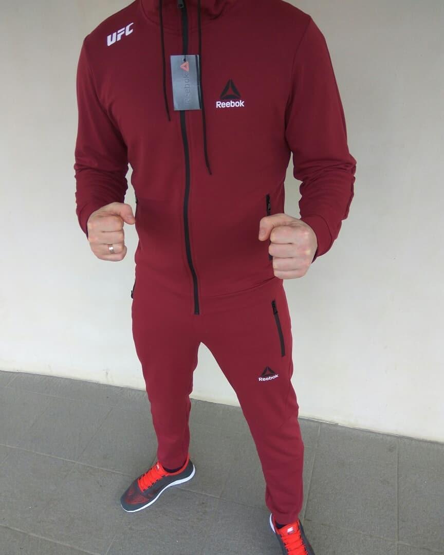 d30065a44c2 Мужской спортивный костюм Reebok UFC бордовый: продажа, цена в Харькове.  спортивные ...