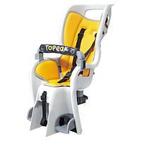 """Сидение детское Topeak Babyseat II (желтый, 26"""", 27.5, 700C)"""