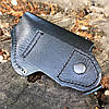 Кобура поясна ПМ, МР-654к з кишенею для магазину (шкіра), фото 5