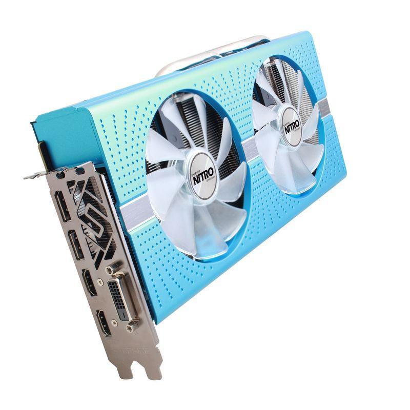 Видеокарта Sapphire Radeon RX 580 8Gb Special Edition METAL BLUE NITRO+ (11265-21-20G) БУ