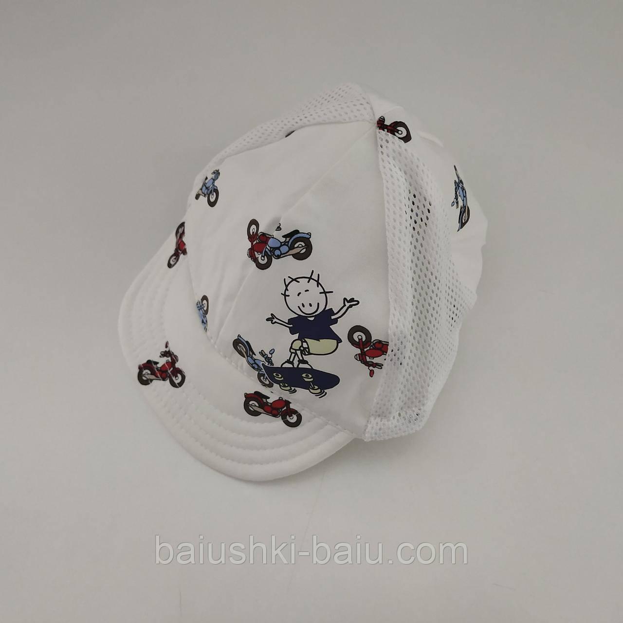 Детская летняя кепка для мальчика, ТМ Babasik