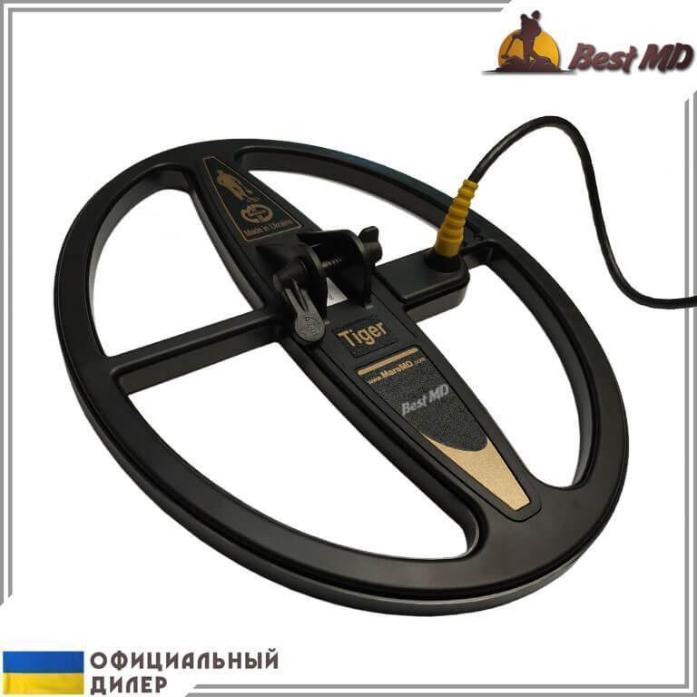 Катушка Mars Tiger для металлоискателей  Golden Mask 4, 4 Pro, 4 WD Pro, 5, 5 Plus