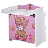 Комод-пеленальный столик MV-910-9 Розовый (0120097kdhf)