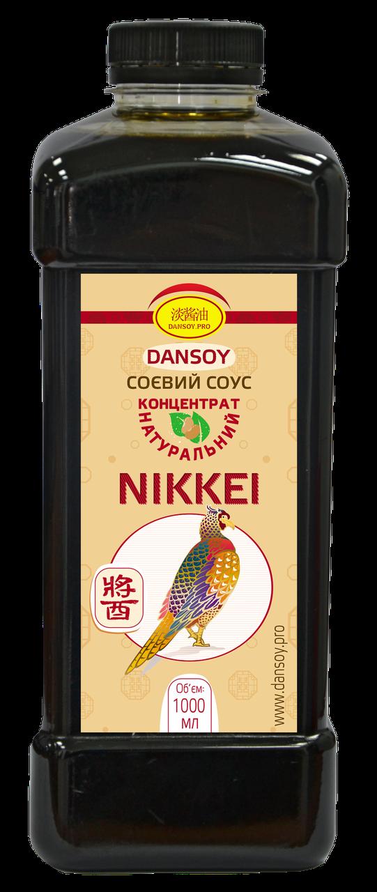 """Соевый соус """"DanSoy"""" Nikkei 🍣 (ДанСой Никей), 1 л, ПЭТ"""