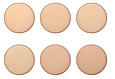 Пудра-корректор на рисовой основе для лица Christian 6 Color Set of Rice Powder 6 в 1, фото 5
