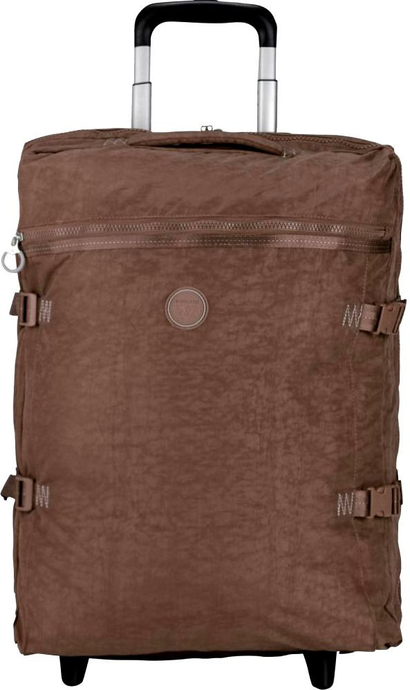 Дорожная малая сумка на колесах 35 л. Roncato Rolling 7123/44 коричневая