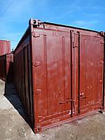 20 футовый контейнер, открытый верх