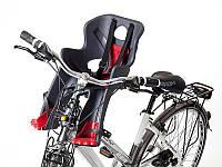 Кресло детское Author ABS - Rabbit sportfix, на переднюю трубу рамы (черно красное )