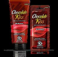"Крем для загара в солярии ""Chokolate KISS"" с маслом какао, маслом Ши и бронзаторами 15 мл."