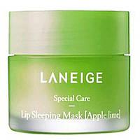 Ночная маска для губ с экстрактом лайма Laneige Lip Sleeping Mask Lime