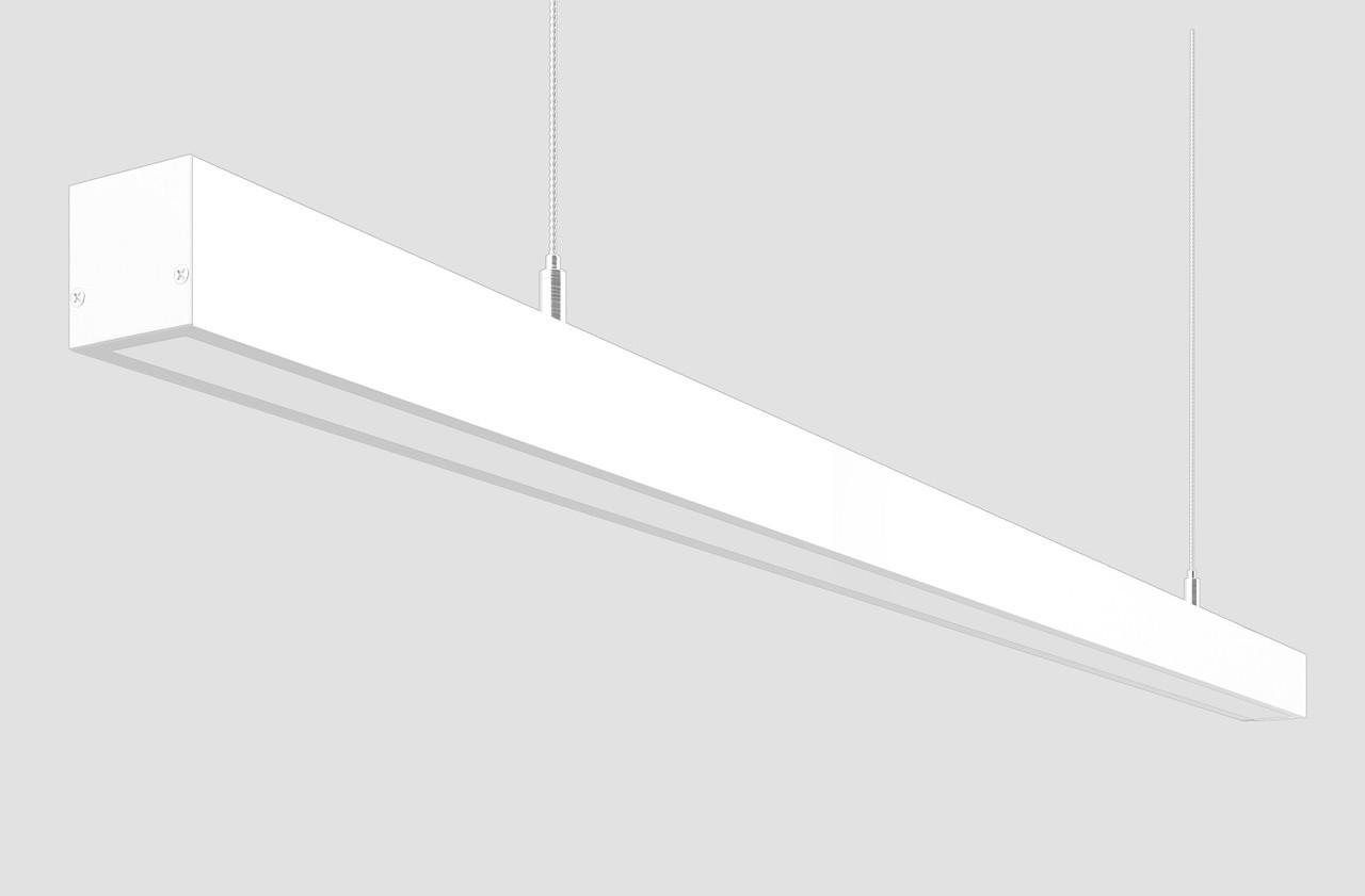Линейный светодиодный светильник 100 Вт белый, фото 1