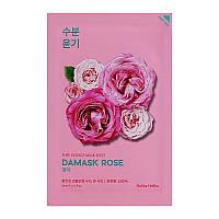 Тканевая маска для лица с экстрактом дамасской розы Holika Holika Pure Essence Mask Sheet - Rose
