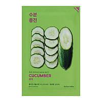 Тканевая маска для лица с экстрактом огурца Holika Holika Pure Essence Mask Sheet - Cucumber