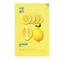 Тканевая маска для лица с экстрактом лимона Holika Holika Pure Essence Mask Sheet - Lemon