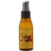 Восстанавливающая эссенция для волос с маслом арганы Nature Republic Argan Essential Deep Care Hair Essence