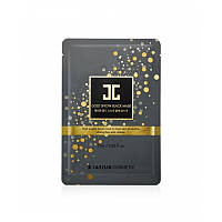 Маска фольгированая с золотом JayJun Gold Snow Black Mask