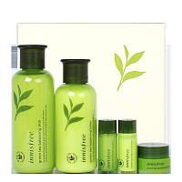 Набор мини-версий с экстрактом зелёного чая Innisfree Green Tea Balancing Skin Care Set