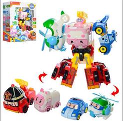 """Робот - Трансформер """"Робокар Полли"""" №5238 Robocar POLI 4в1"""