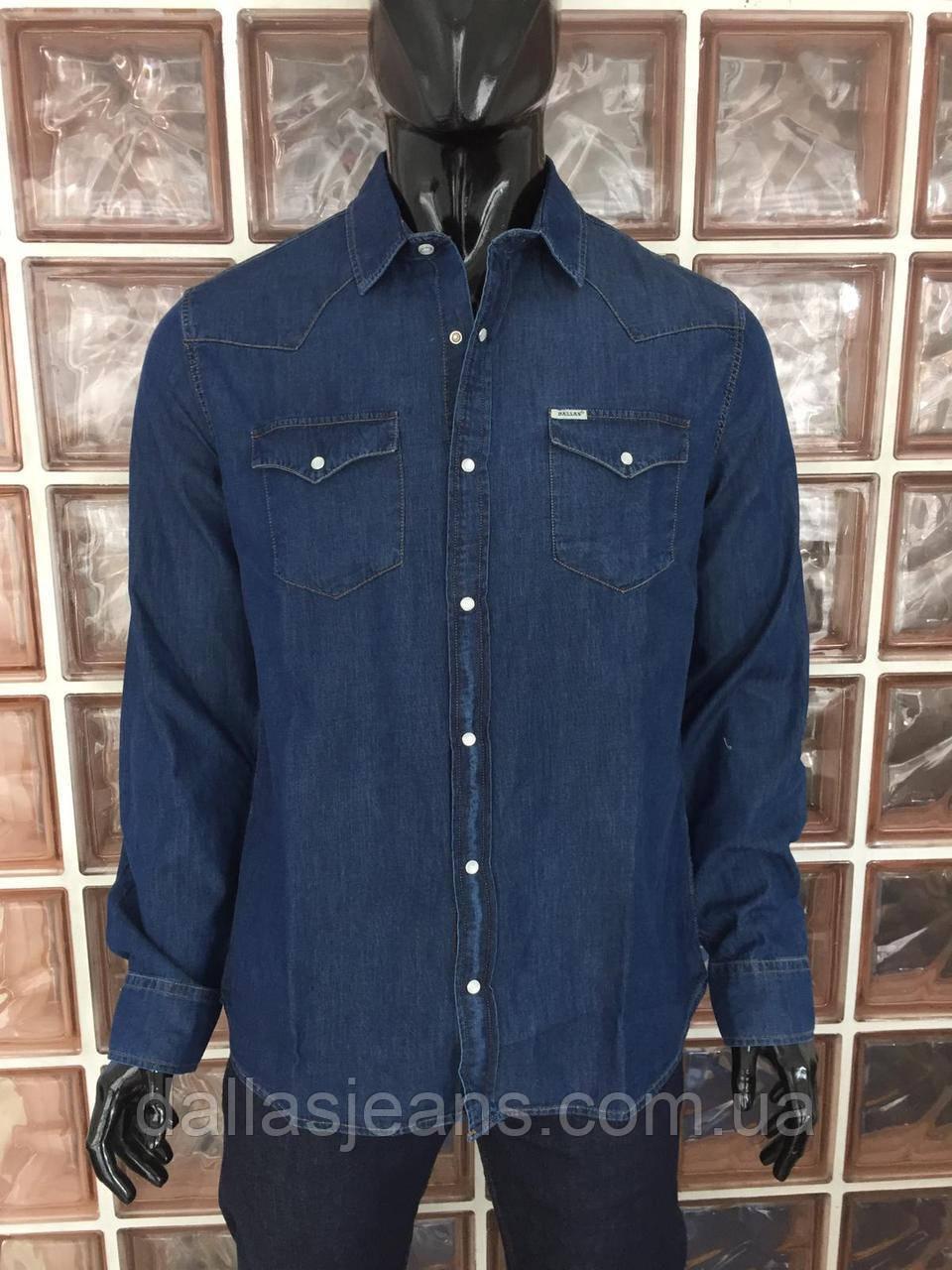 c26af5629fa Рубашка мужская джинсовая DALLAS JEANS Размер M - DALLAS JEANS в Одессе