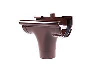 Лійка зливна для ринви 90/75 Profil. Ливниприемник проходной водостічні сисеми Профіл