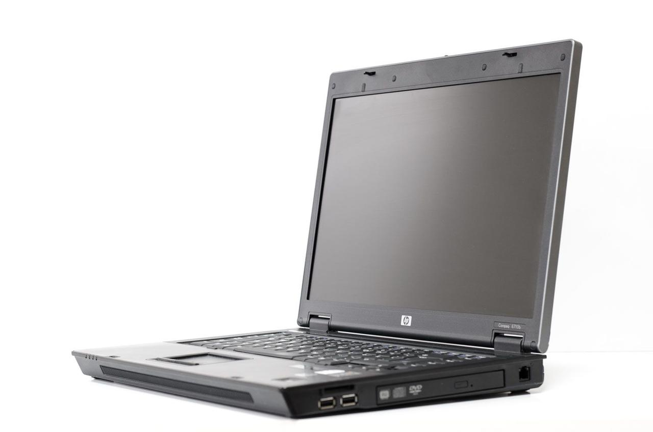 Ноутбук, notebook, HP Compaq 6710p, 2 ядра по 2,1 ГГц, 4 Гб ОЗУ, HDD 80 Гб