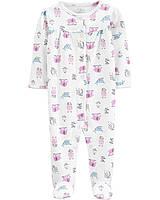 Человечек хлопковый Carters для девочки 9 месяцев 69-72 см