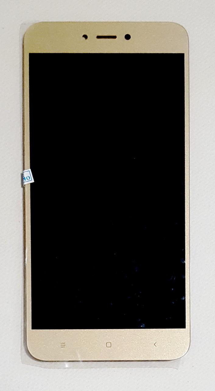 Модуль (дисплей + сенсор) для Xiaomi Redmi Note 5A, Redmi Y1 Prime золотой