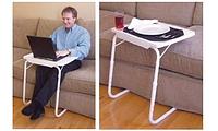Уценка! Портативный столик (складной столик) TABLE MATE (Тейбл майт)