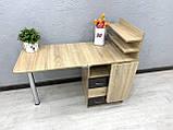 Угловой маникюрный стол V395, комбинированный цвет, фото 4