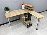 Угловой маникюрный стол V395, комбинированный цвет, фото 2