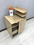 Угловой маникюрный стол V395, комбинированный цвет, фото 5