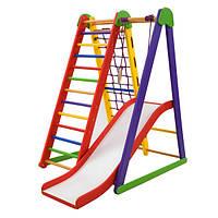 Детский спортивный уголок SportBaby Kind-Start-4 для дома Разноцветный (012z6ztp2246)