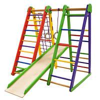 Детский спортивный уголок SportBaby Эверест-3 для дома Разноцветный (012pjwmen2248)