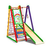 Детский спортивный уголок SportBaby Kind-Start для дома Разноцветный (012nkt7t2250)