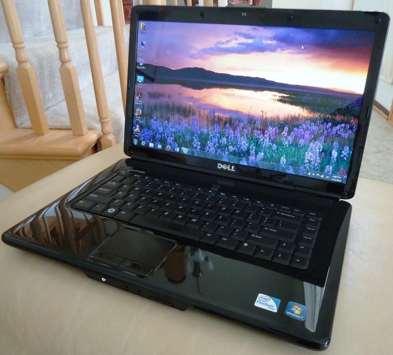 Ноутбук, notebook, Dell PP41L, 2 ядра по 2,1 ГГц, 4 Гб ОЗУ, HDD 250 Гб
